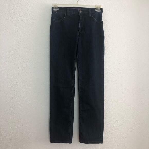 NYDJ Denim - Not Your Daughters Jeans Navy Straight Leg Jeans
